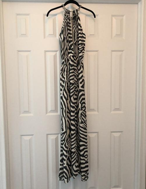 Black and white Maxi Dress by H&M Image 1