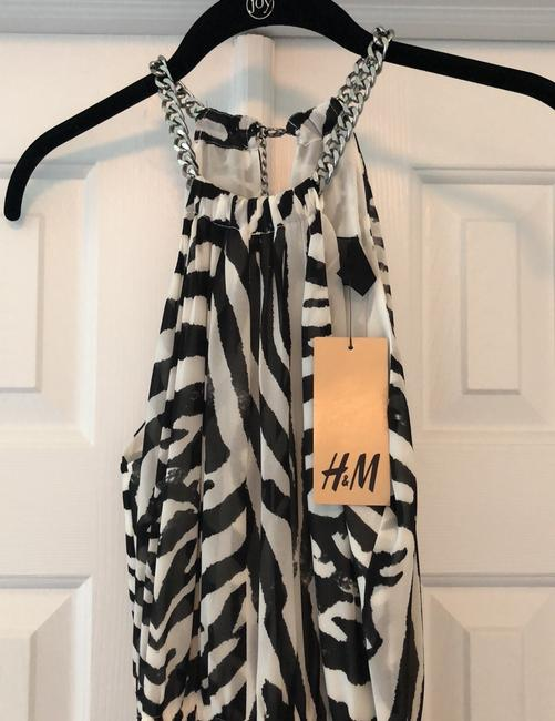 Black and white Maxi Dress by H&M Image 2
