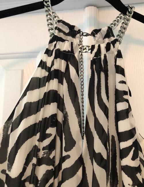 Black and white Maxi Dress by H&M Image 4