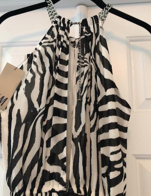 Black and white Maxi Dress by H&M Image 6