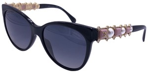 Chanel CHANEL BIJOU LIMITED EDITION 5336HB C.1325/S8 CRYSTALS PEARL POLARIZED