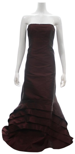 Preload https://img-static.tradesy.com/item/25704077/nicole-miller-burgundy-signature-taffeta-strapless-gown-long-formal-dress-size-8-m-0-1-650-650.jpg