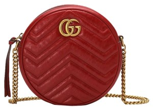 Gucci Marmont Gg Shoulder Cross Body Bag