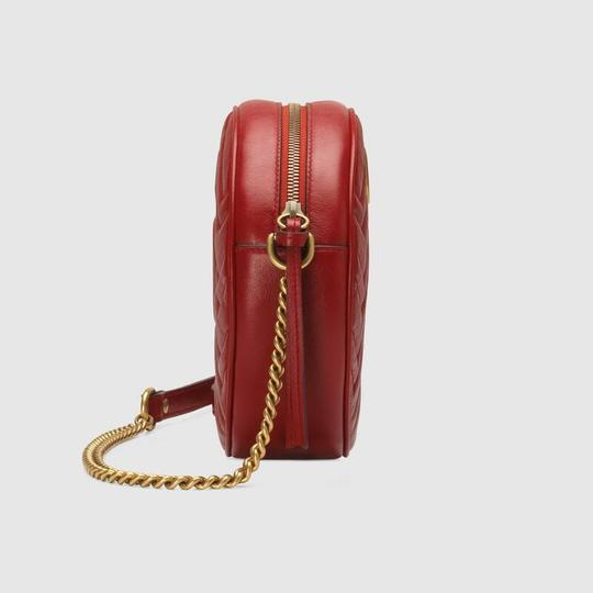 Gucci Marmont Gg Shoulder Cross Body Bag Image 3