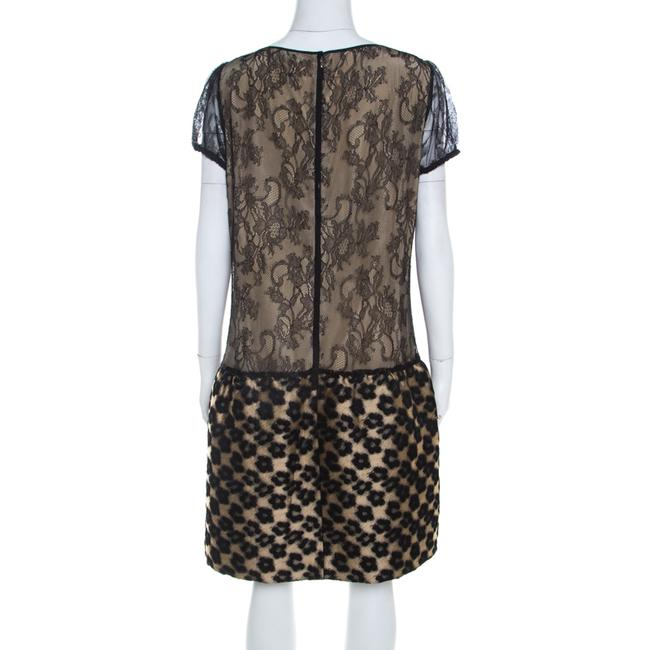 RED Valentino short dress Beige Lace Floral on Tradesy Image 1