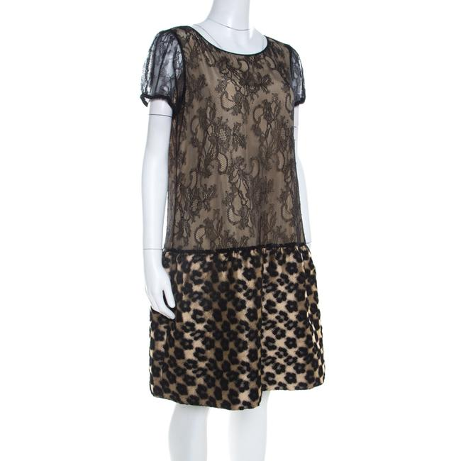 RED Valentino short dress Beige Lace Floral on Tradesy Image 2