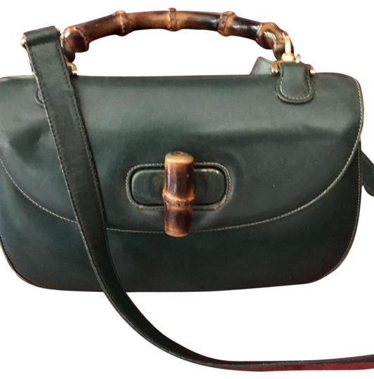 Gucci Satchel in Green Image 0