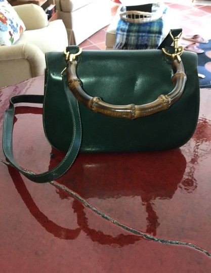 Gucci Satchel in Green Image 3