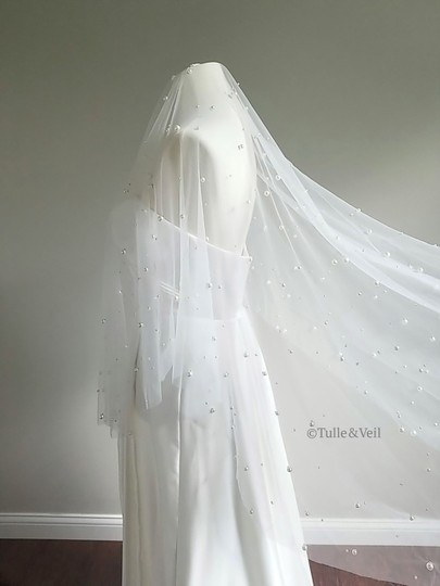 Preload https://img-static.tradesy.com/item/25704266/ivory-medium-two-tier-pearl-bridal-veil-0-0-540-540.jpg