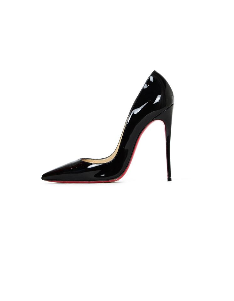 f53f387363f Christian Louboutin Black Patent Leather So Kate 120 Pointed Pumps Size EU  39 (Approx. US 9) Narrow (Aa, N) 17% off retail