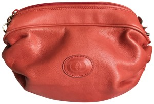 Gucci Gucci Vintage Large Leather Make up Bag