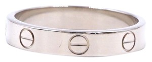 Cartier 18K gold Love band ring size 55 3.5mm wide Size 7