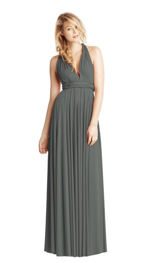 Preload https://img-static.tradesy.com/item/25704982/twobirds-charcoal-jersey-classic-ballgown-modern-bridesmaidmob-dress-size-os-one-size-0-0-540-540.jpg
