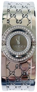 Gucci Gucci Diamond Twirl Bangle Watch (New) YA112504