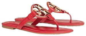 Tory Burch Brilliant Red/Gold Sandals