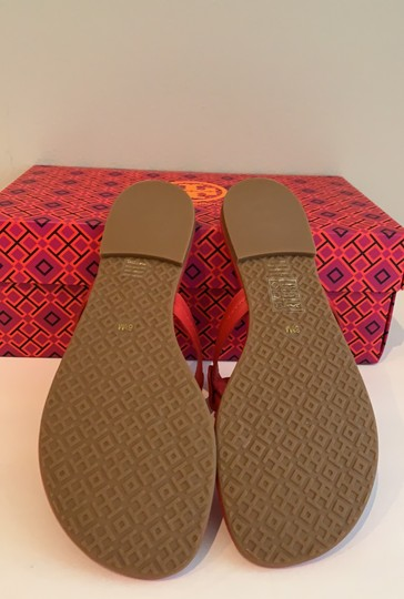 Tory Burch Brilliant Red/Gold Sandals Image 2