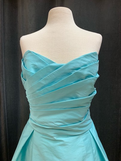 Alfred Sung Coastal D538 Traditional Bridesmaid/Mob Dress Size 20 (Plus 1x) Image 3