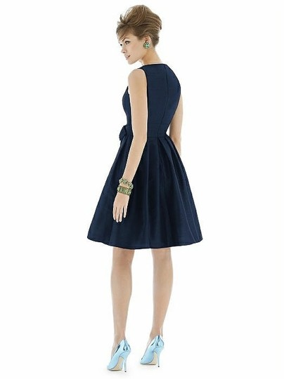 Alfred Sung Midnight Dupioni D666 Traditional Bridesmaid/Mob Dress Size 26 (Plus 3x) Image 1