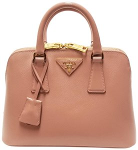Prada Saffiano Leather Lux Promenade Cross Body Bag