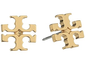 Tory Burch Brand New Tory Burch Small GOLD Double T Logo Studs