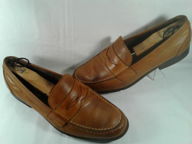 Item - Brown Tan Walkability Leather Men's Adiprene Casual Loafer 10.5 Shoes