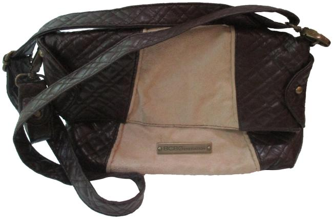 Item - Suede Brown Leather Cross Body Bag