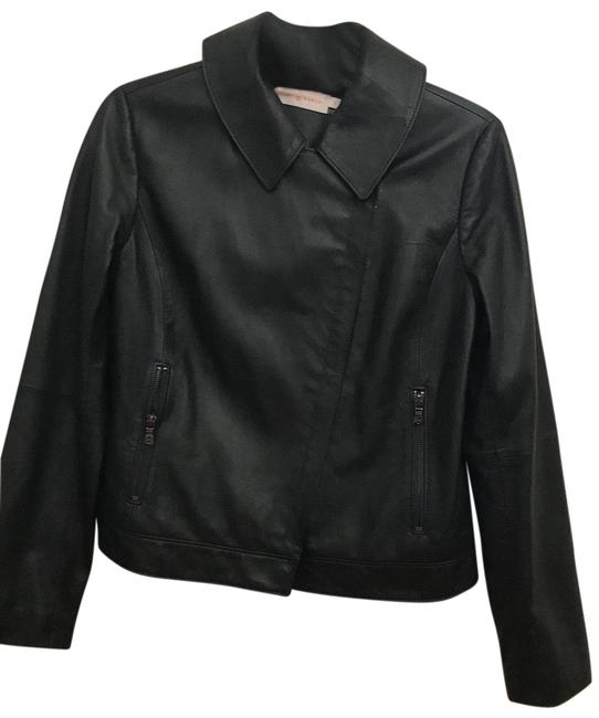 Item - Forest Green Collared Asymmetrical Zip Moto Jacket Size 8 (M)