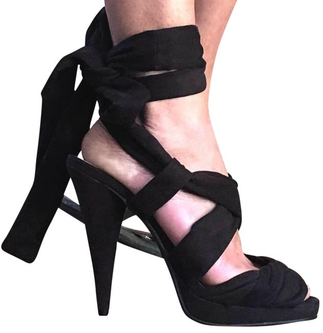 Item - Black Heels Platforms Size US 9 Regular (M, B)