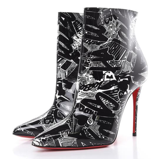 Preload https://img-static.tradesy.com/item/25706703/christian-louboutin-multicolor-kate-100-black-white-patent-nicograf-ankle-bootsbooties-size-eu-395-a-0-1-540-540.jpg