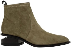Alexander Wang Cut-out Suede Date Night Hollywood KHAKI Boots