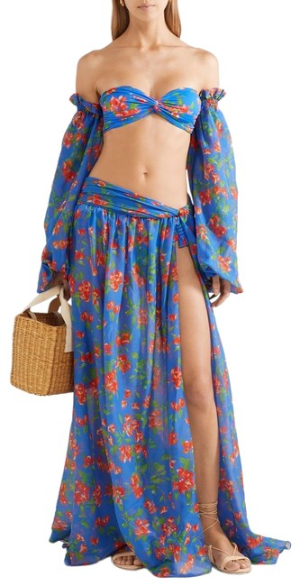 Item - Multiple L Multicolor Hera Maxi Skirt Cover-up/Sarong Size 14 (L)