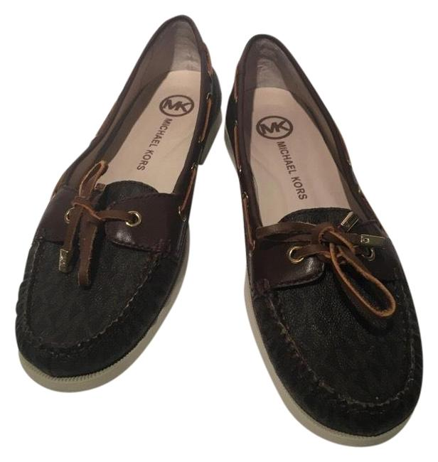 Item - Brown Women's Monogram Loafers Flats Size US 10 Regular (M, B)
