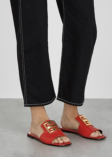 Givenchy Red Mules Image 3