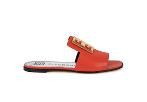 Givenchy Red Mules