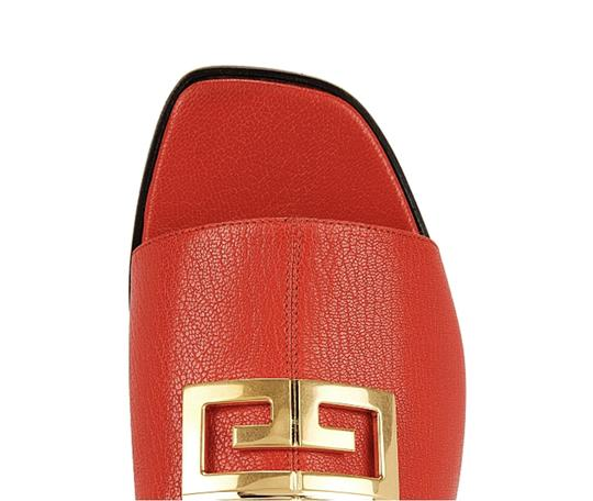 Givenchy Red Mules Image 4