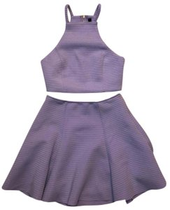 Honey Punch short dress lavender on Tradesy