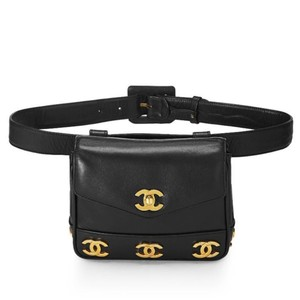 Chanel Fanny Pack Waist Belt Bum Rare Vintage Cross Body Bag