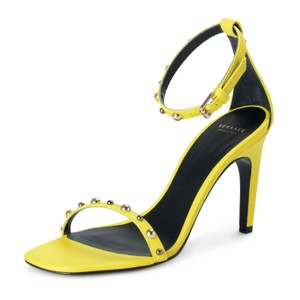 Versace Lemon Yellow Sandals