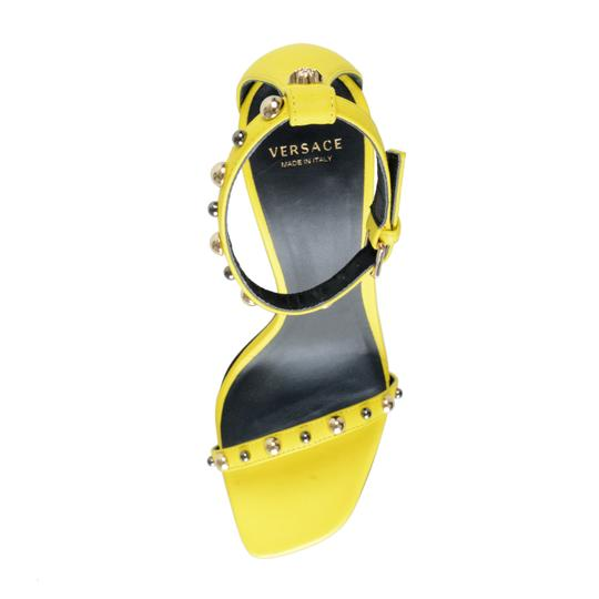Versace Lemon Yellow Sandals Image 6