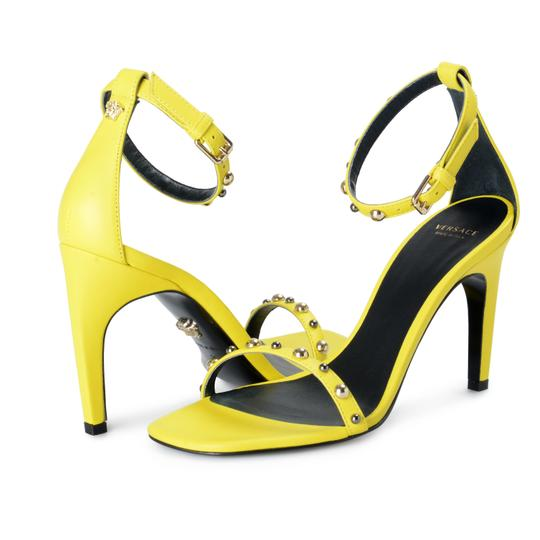 Versace Lemon Yellow Sandals Image 7