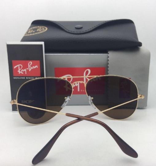 Ray-Ban Polarized RAY-BAN Sunglasses LARGE METAL RB 3025 001/57 55-14 140 Gold Image 8