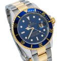 Rolex Rolex Submariner 166113 40MM Blue Dial With Two Tone Bracelet Image 2