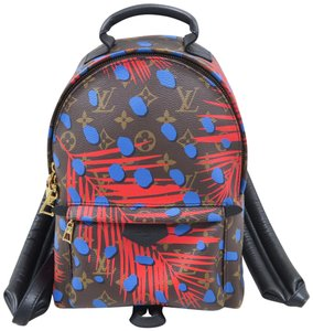 Louis Vuitton Lv Palm Springs Pm Jungle Dots Backpack