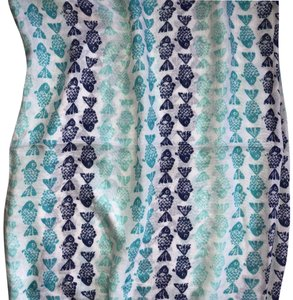 My Boutique Collection Boutique Collection Fish Print Infinity Scarf