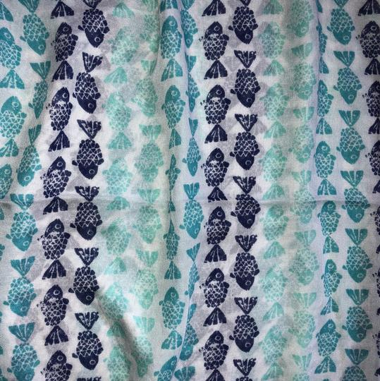 My Boutique Collection Boutique Collection Fish Print Infinity Scarf Image 1