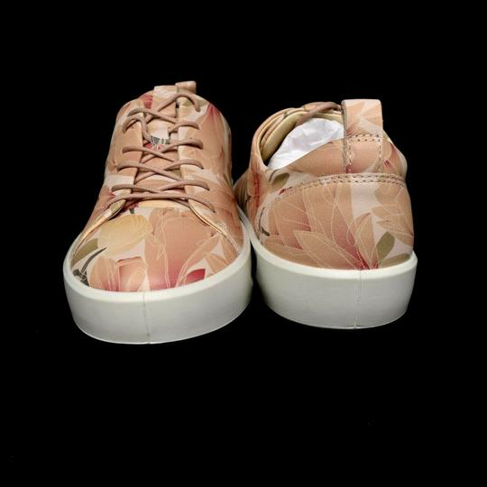 Ecco Soft Sneaker Lace Up Floral Athletic Image 4