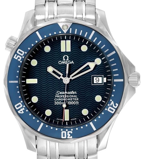 Preload https://img-static.tradesy.com/item/25708847/omega-blue-seamaster-300m-stainless-steel-mens-25318000-watch-0-1-540-540.jpg