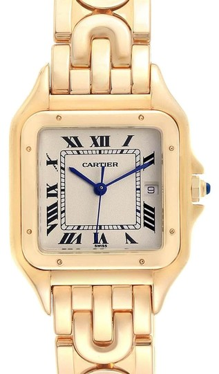 Preload https://img-static.tradesy.com/item/25708857/cartier-silver-xl-panthere-art-deco-yellow-gold-mens-w25014b9-watch-0-1-540-540.jpg