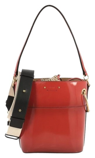 Preload https://img-static.tradesy.com/item/25708906/chloe-roy-bucket-patent-small-red-leather-shoulder-bag-0-2-540-540.jpg