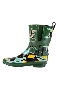 Burberry Rubber Belted Multicolor Boots